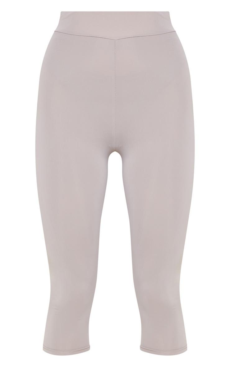 Grey Basic 3/4 Gym Legging 3