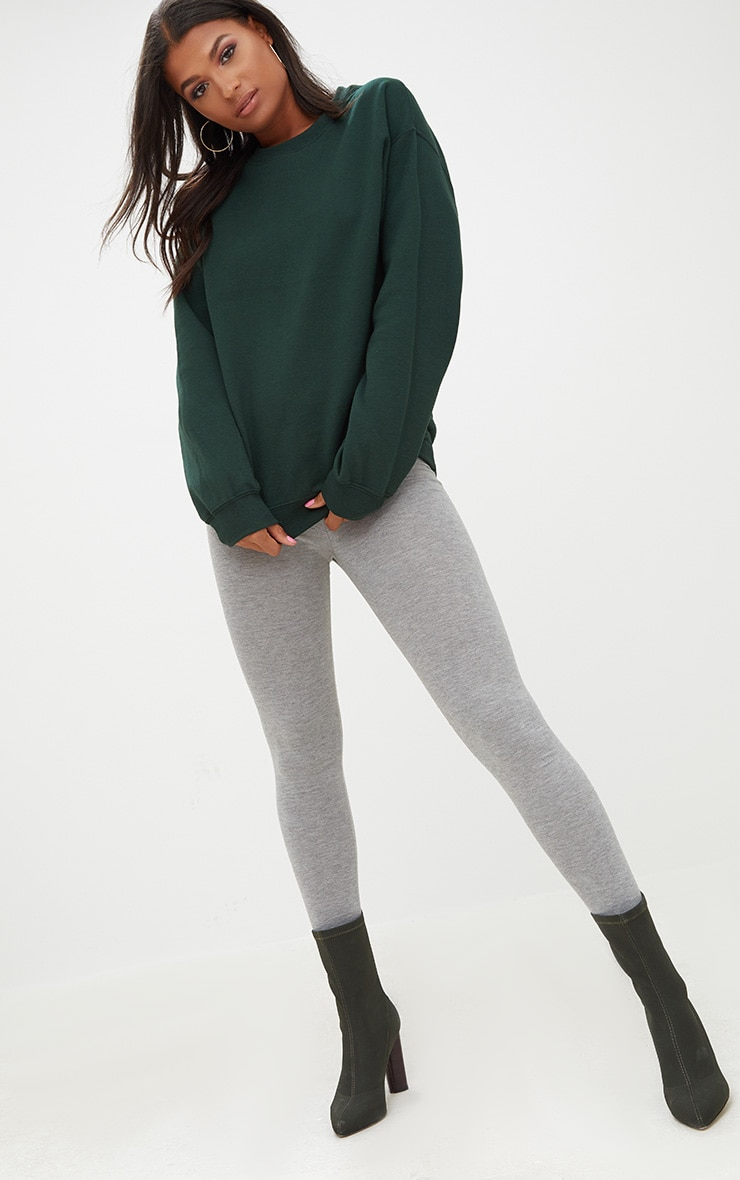 Forest Green Ultimate Oversized Sweater 4