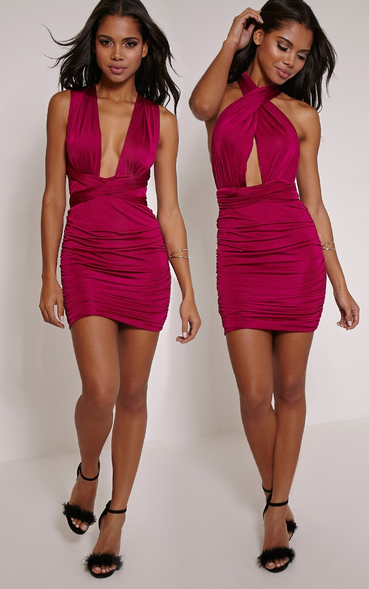 Katherine Berry Multiway Mini Dress 1