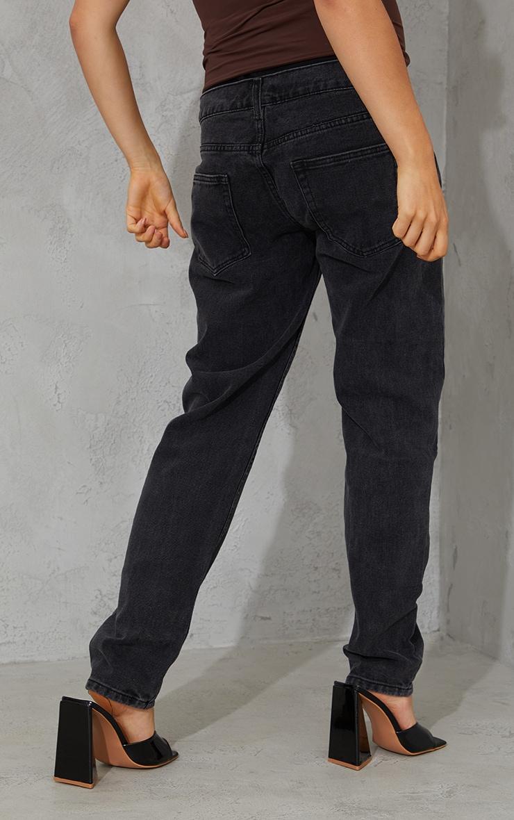 Maternity Black Mom Jeans 3
