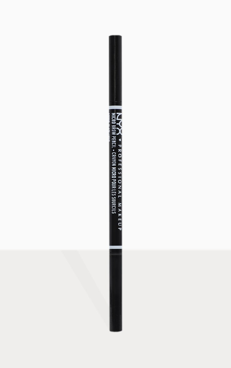 NYX PMU Micro Brow Pencil Black 2