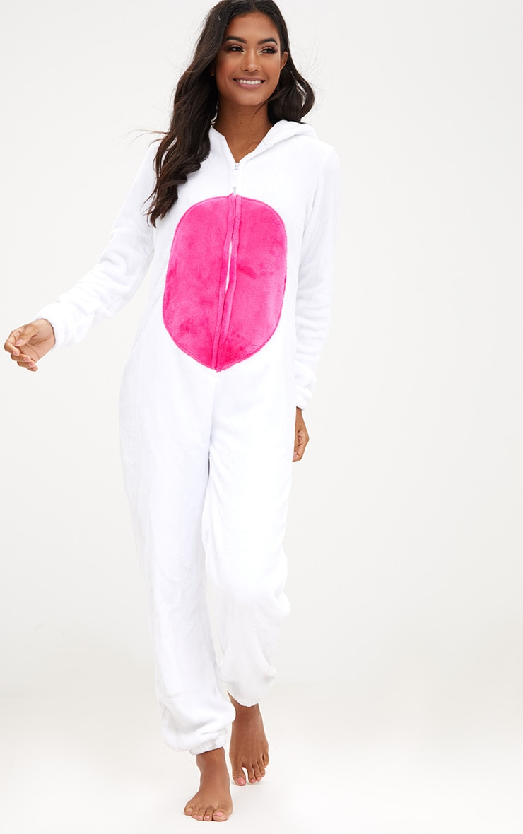 White Unicorn Onesie 3