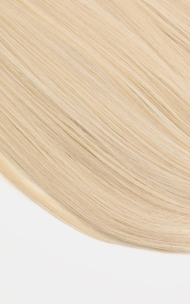 LullaBellz - Extensions lisses à clipser 57 cm - Light Blonde 6