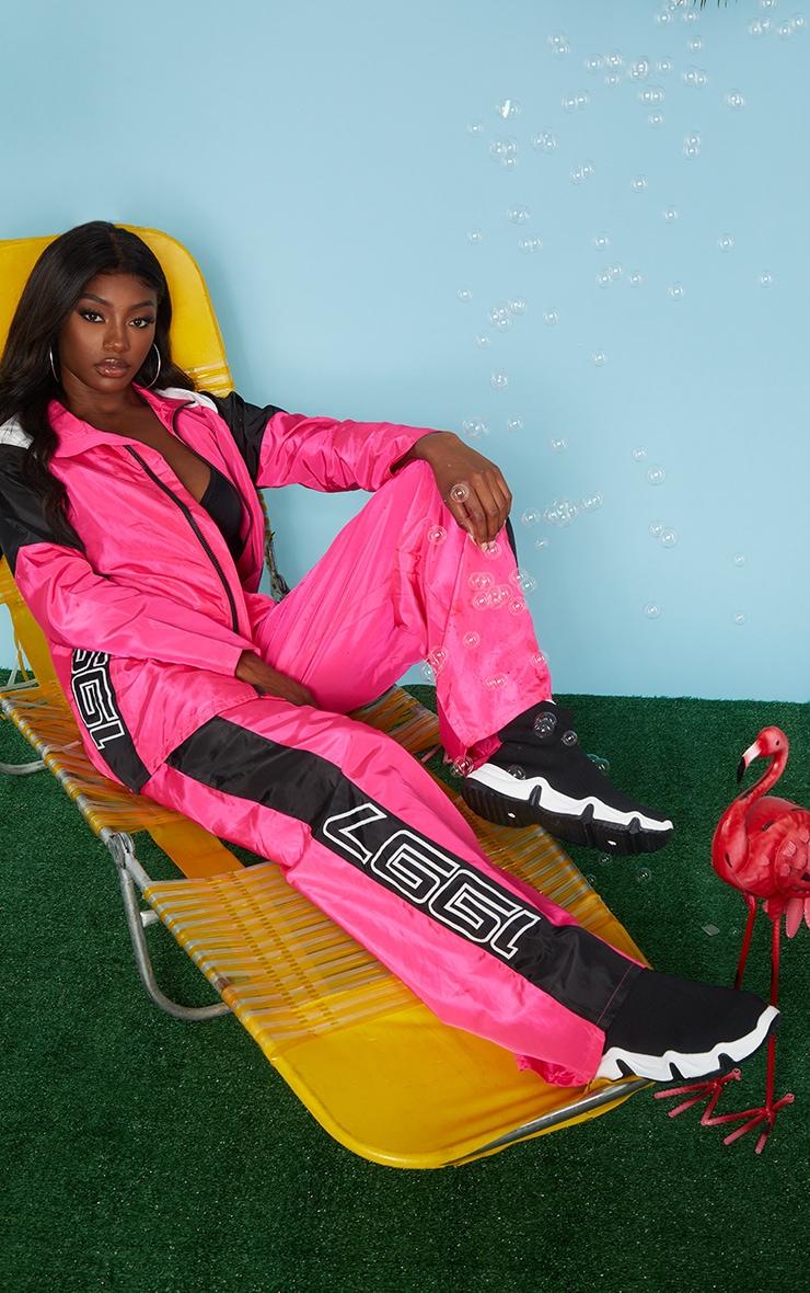 Pink Nylon 1997 Oversized Sports Jacket 3