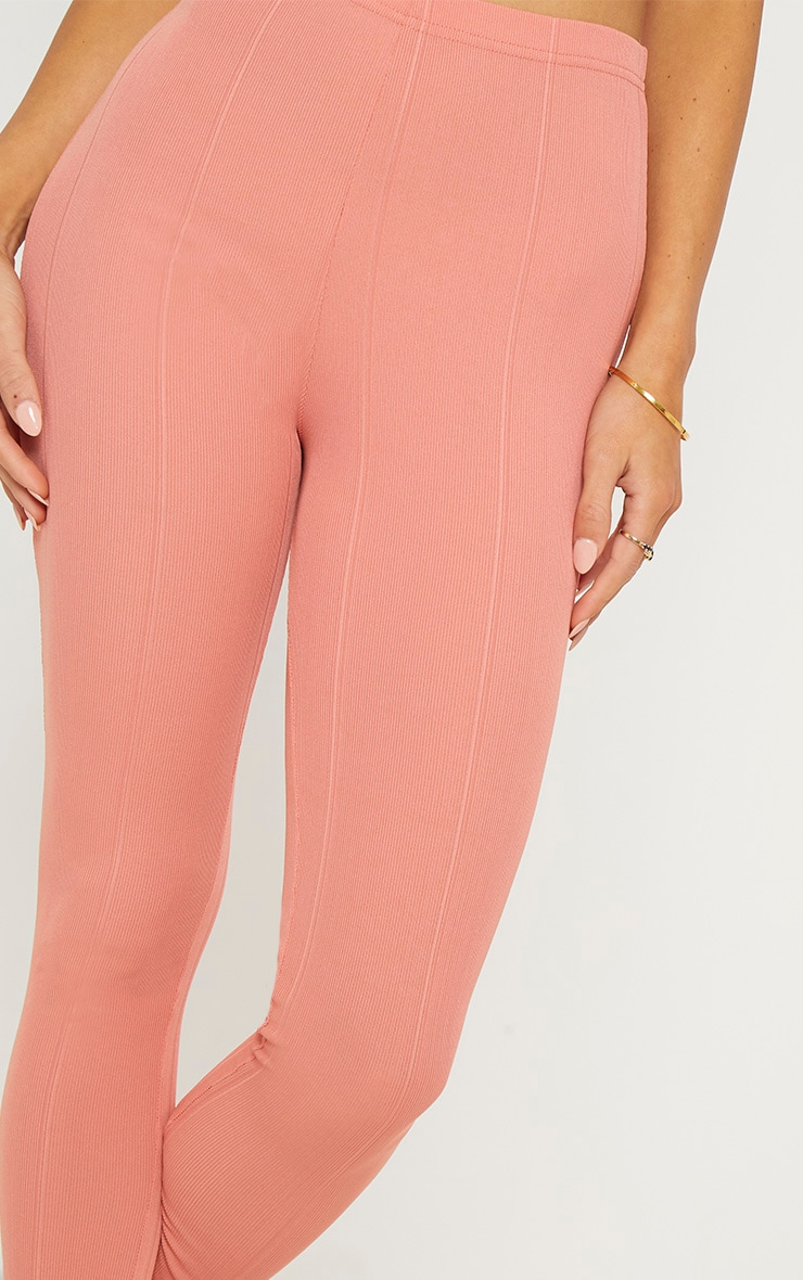 Rose High Waisted Bandage Leggings 5