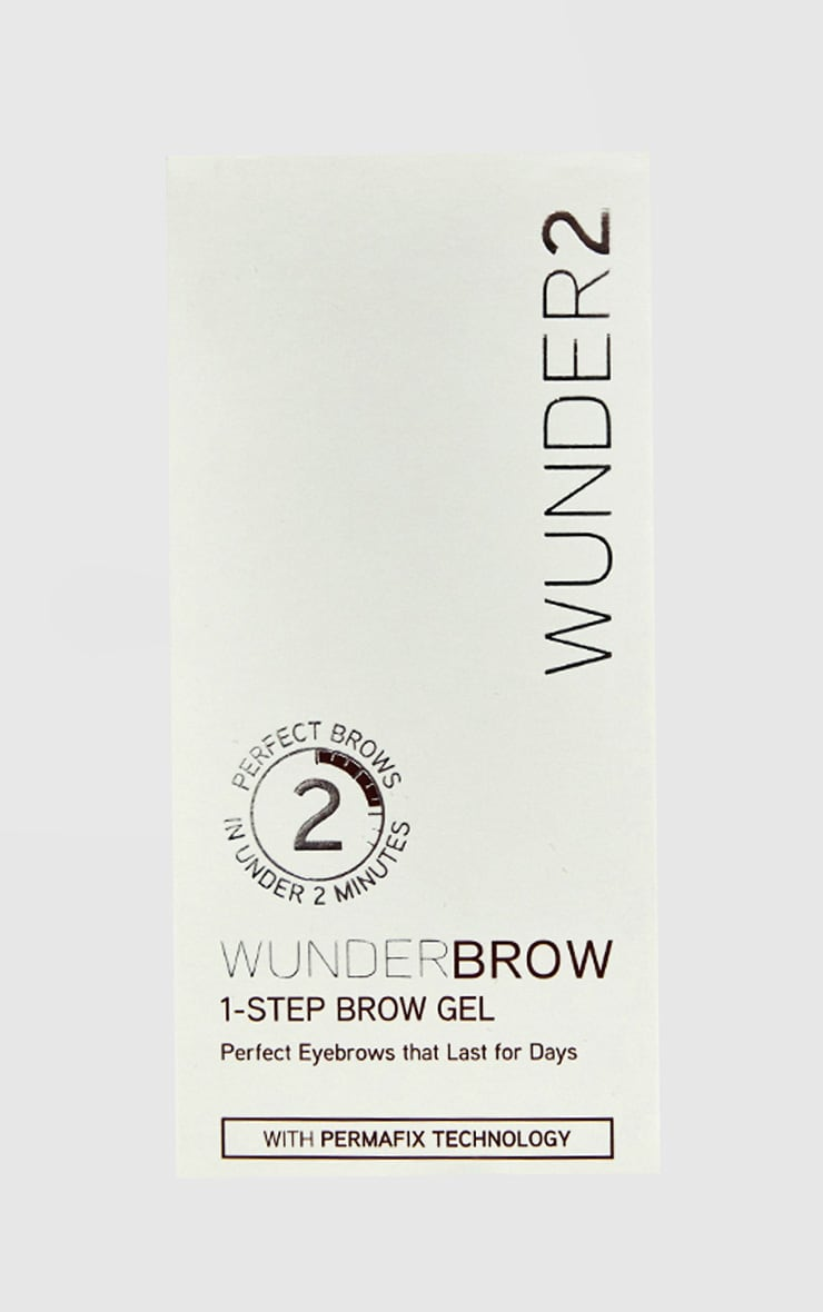 Wunderbrow 1-Step Brow Gel Black/Brown 2