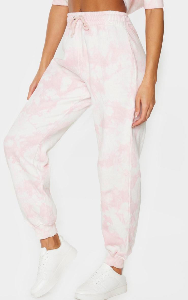 Light Pink Tie Dye Joggers 2