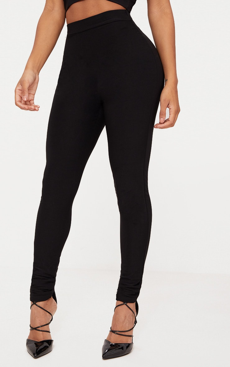Shape Black Slinky Leggings 2