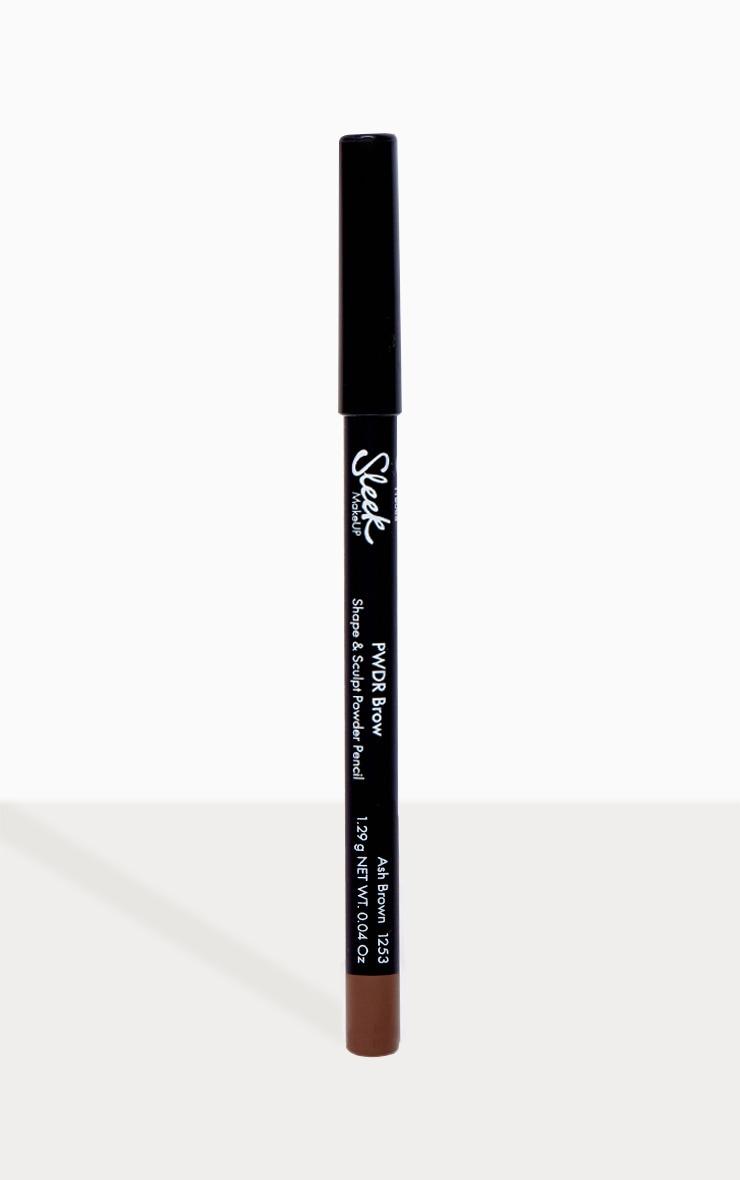 Sleek MakeUP PWDR Brow Pencil Ash Brown 1