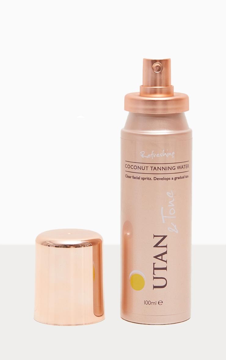 UTAN & Tone Coconut Tanning Water  2