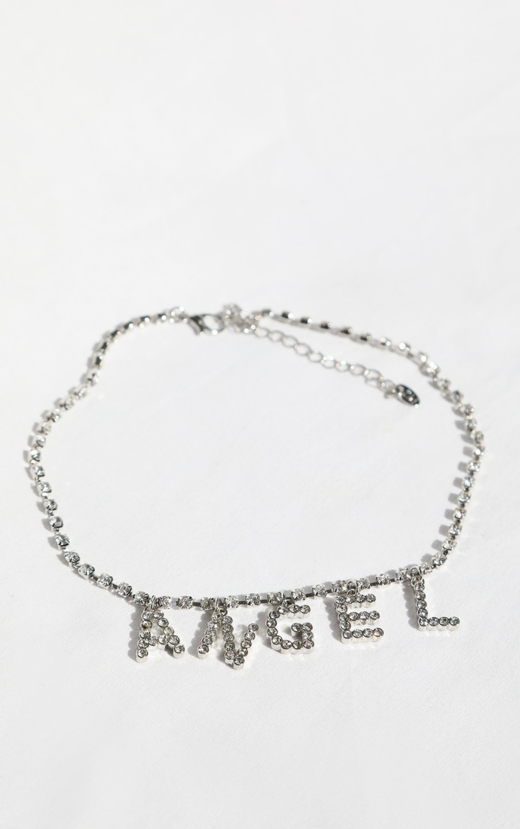 Angel Diamante Choker 2