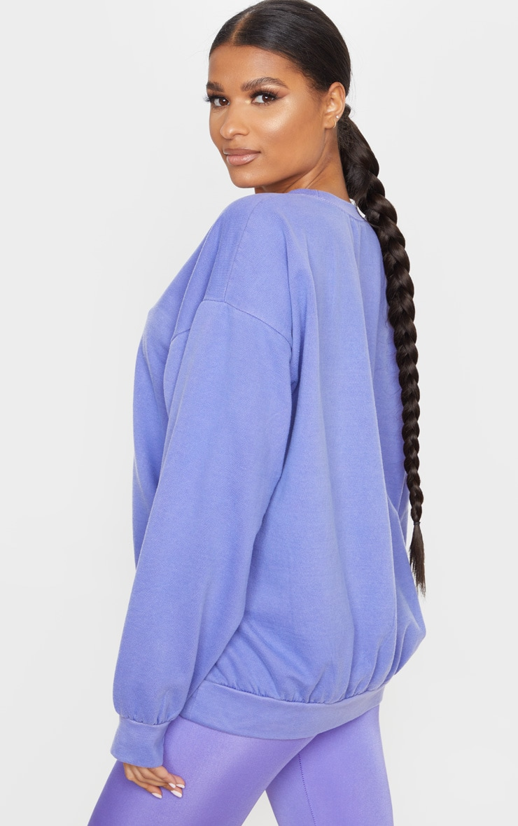 Lilac Ultimate Oversized Sweatshirt 2