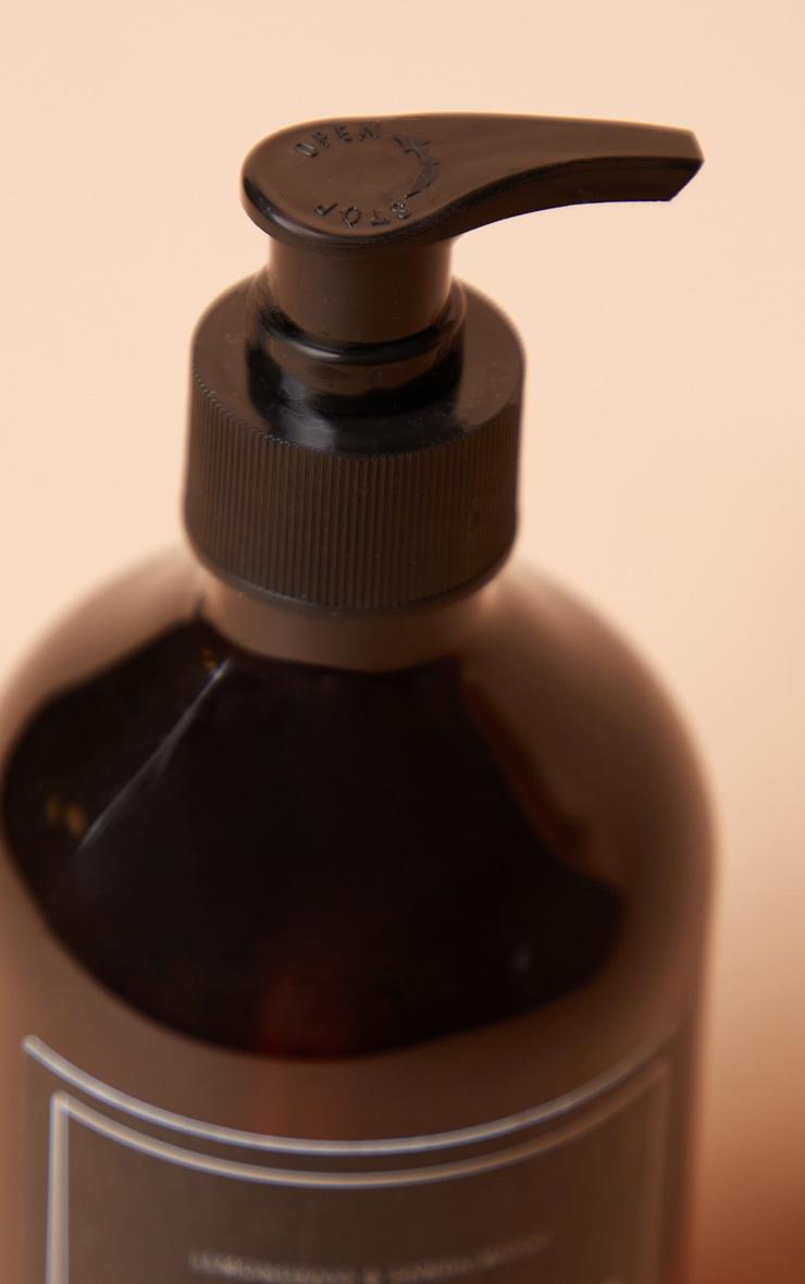 PRETTYLITTLETHING Home - Savon pour les mains parfum citronnelle et bois de santal 4
