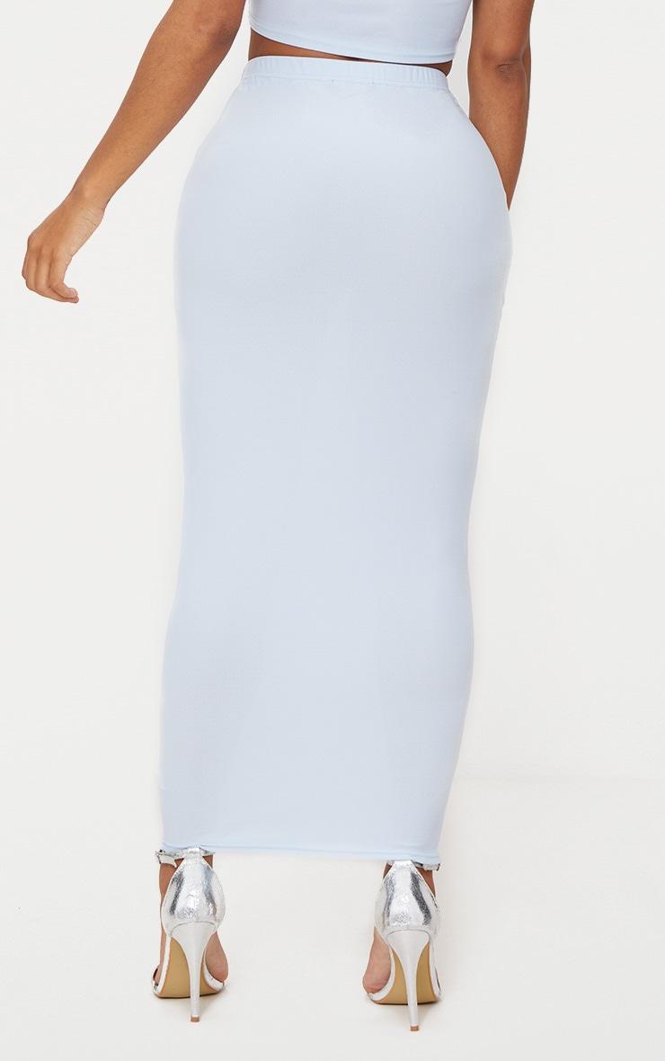 Shape Light Blue Midaxi Skirt  4