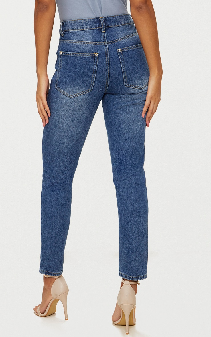 Mid Wash Mom Jean 4