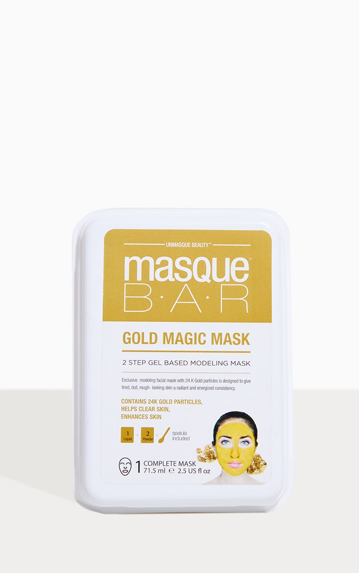 MasqueBAR 24K Gold Magic Modeling Mask 1