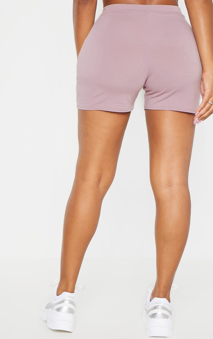 Shape Violet High Waisted Jersey Shorts 4