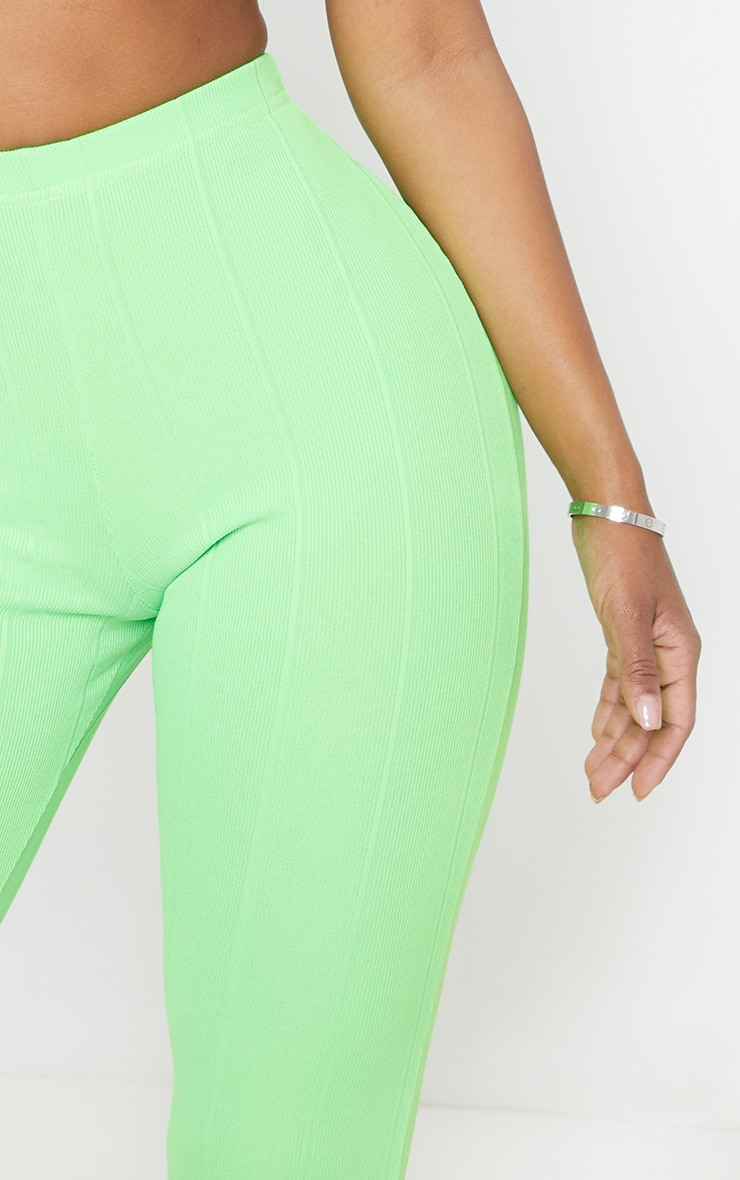 Shape Neon Lime Bandage Legging  5