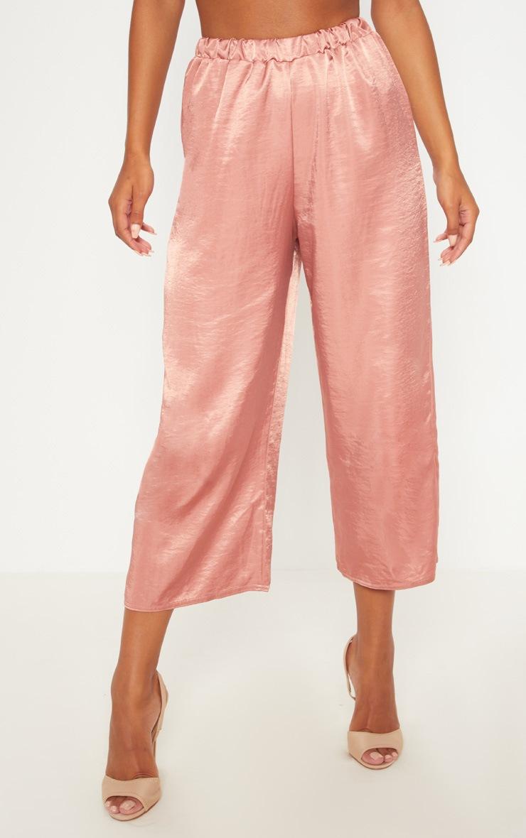 Rose Wide Leg Culotte 2