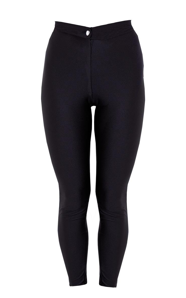 Black Second Skin Disco Pant 5