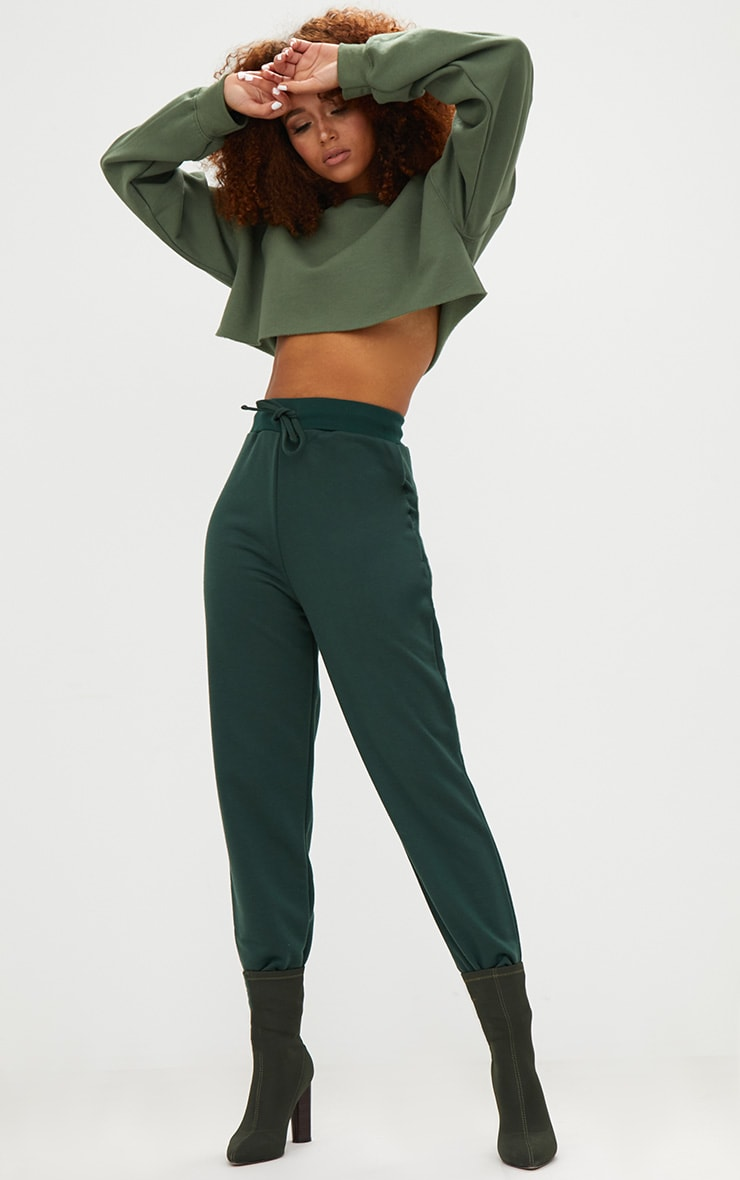 Emerald Green Ultimate Sweat Joggers 1
