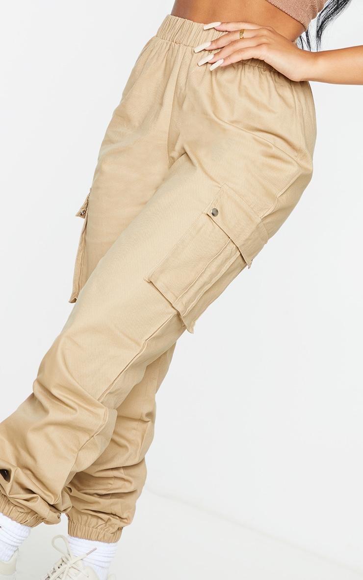 Petite Stone Pocket Detail Cargo Trousers 4