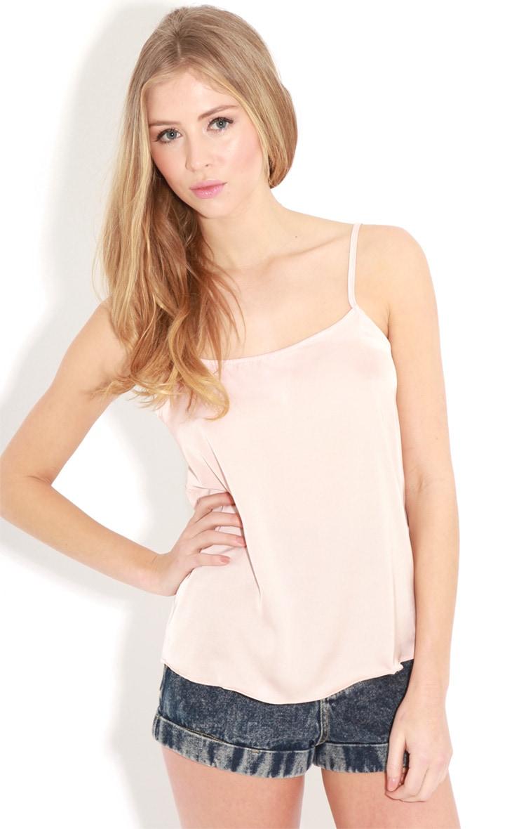 Lilian Pink Silk Cami  1