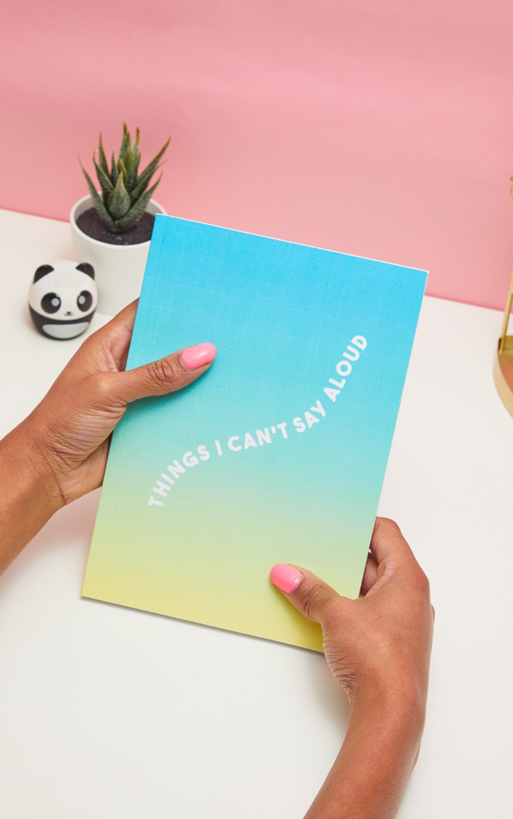 Central 23 - Carnet Things I Can't Say Aloud