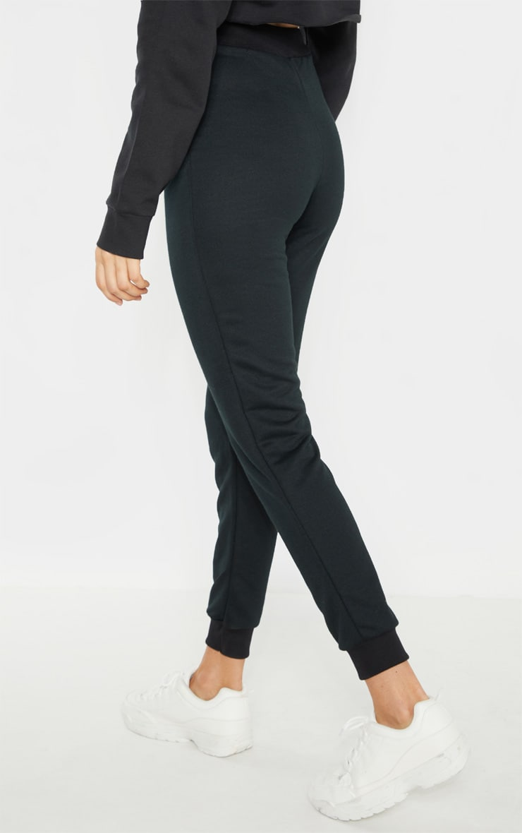 Tall Black Sweat Jogger 4