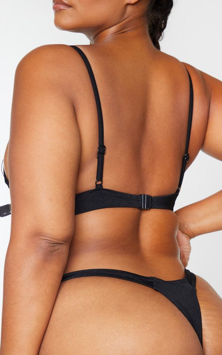 Plus Black Mix & Match Bikini Thong 3