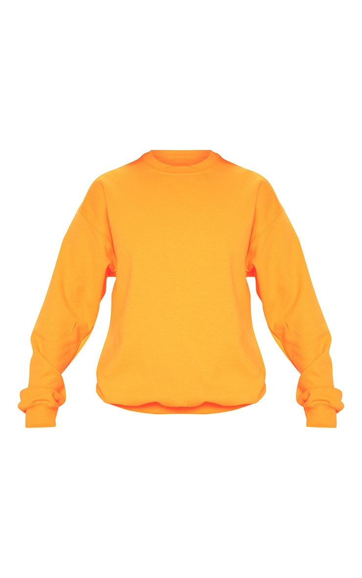 Orange Neon Ultimate Oversized Sweater 3
