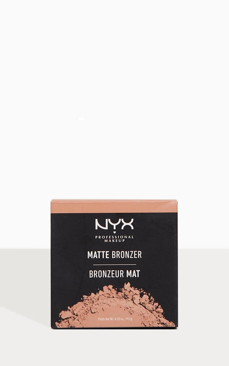 NYX PMU Matte Bronzer Deep Tan 4