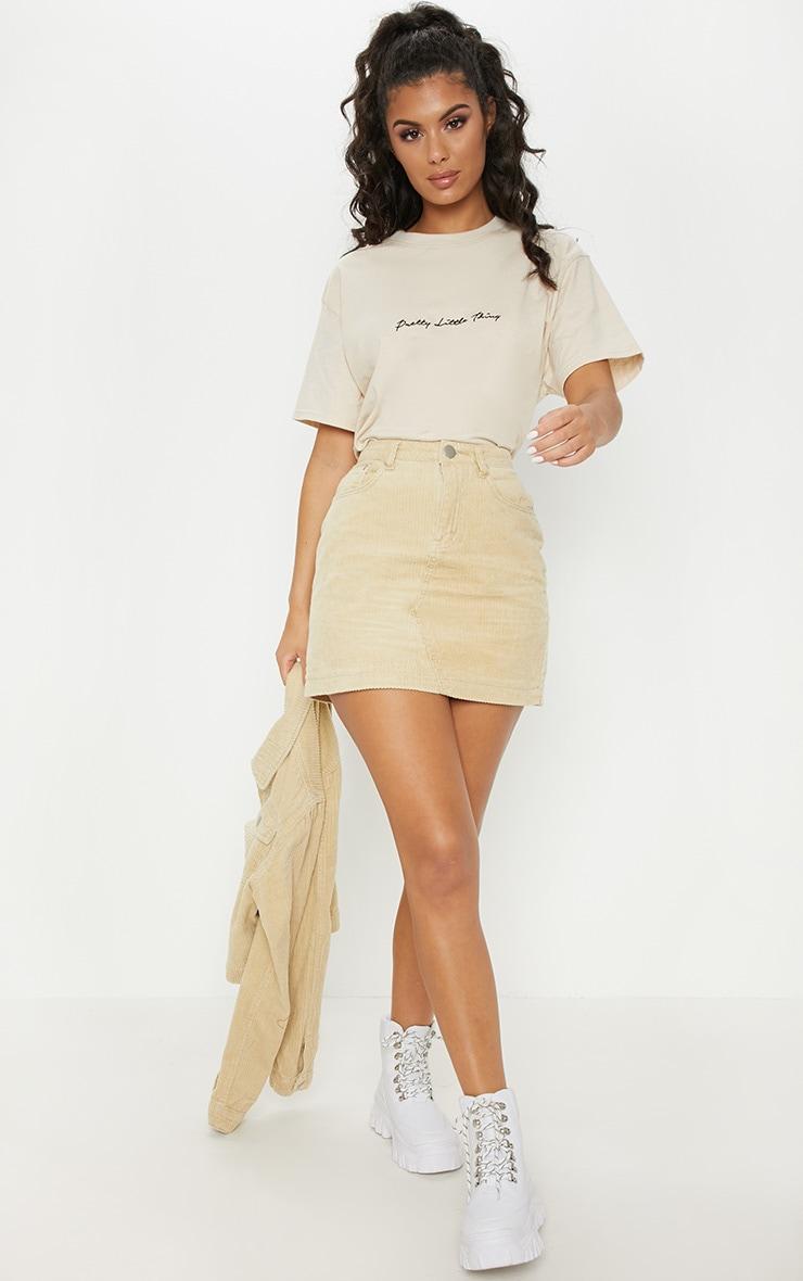 Stone Jumbo Cord Skirt 5