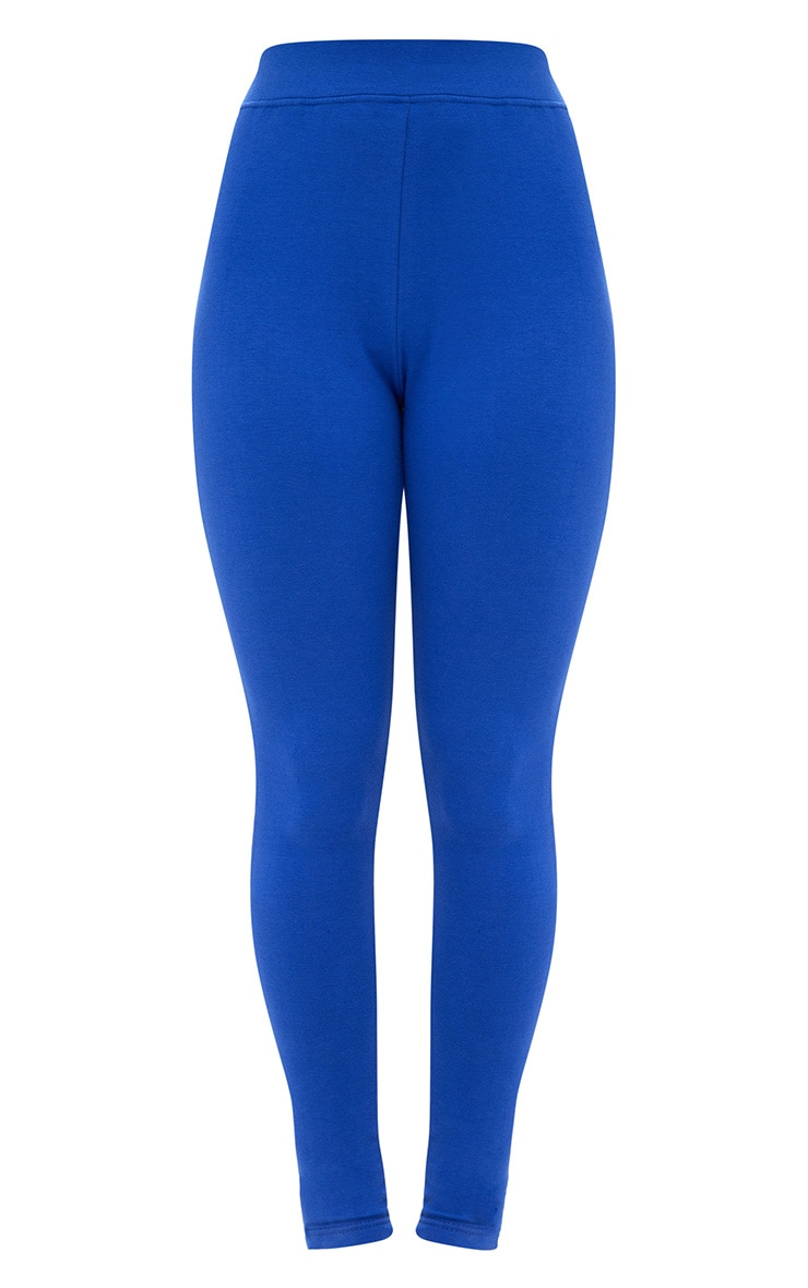 Cobalt Back Lace Up Skinny Trousers 3