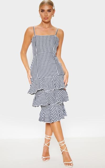df51cf657fbb6 Midi Dresses   Knee Length Dresses UK   PrettyLittleThing