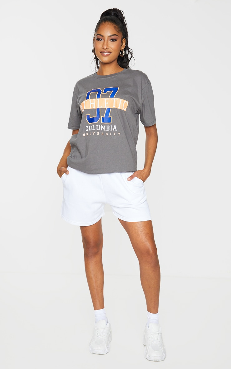 Charcoal 97 Athletic Slogan T Shirt 3