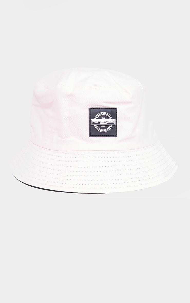 PRETTYLITTLETHING Pink Branded Bucket Hat 2
