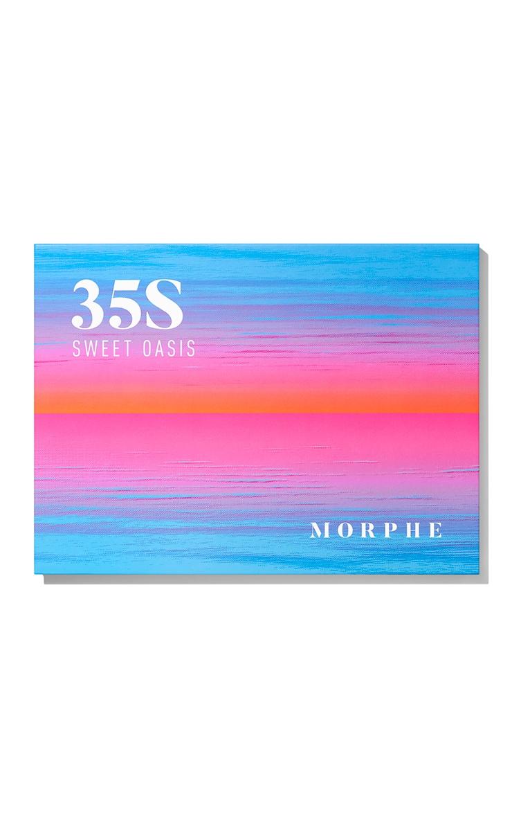 Morphe 35S Sweet Oasis Artistry Eyeshadow Palette 9
