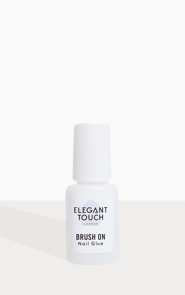 Elegant Touch Brush On Nail Glue 6ml 2