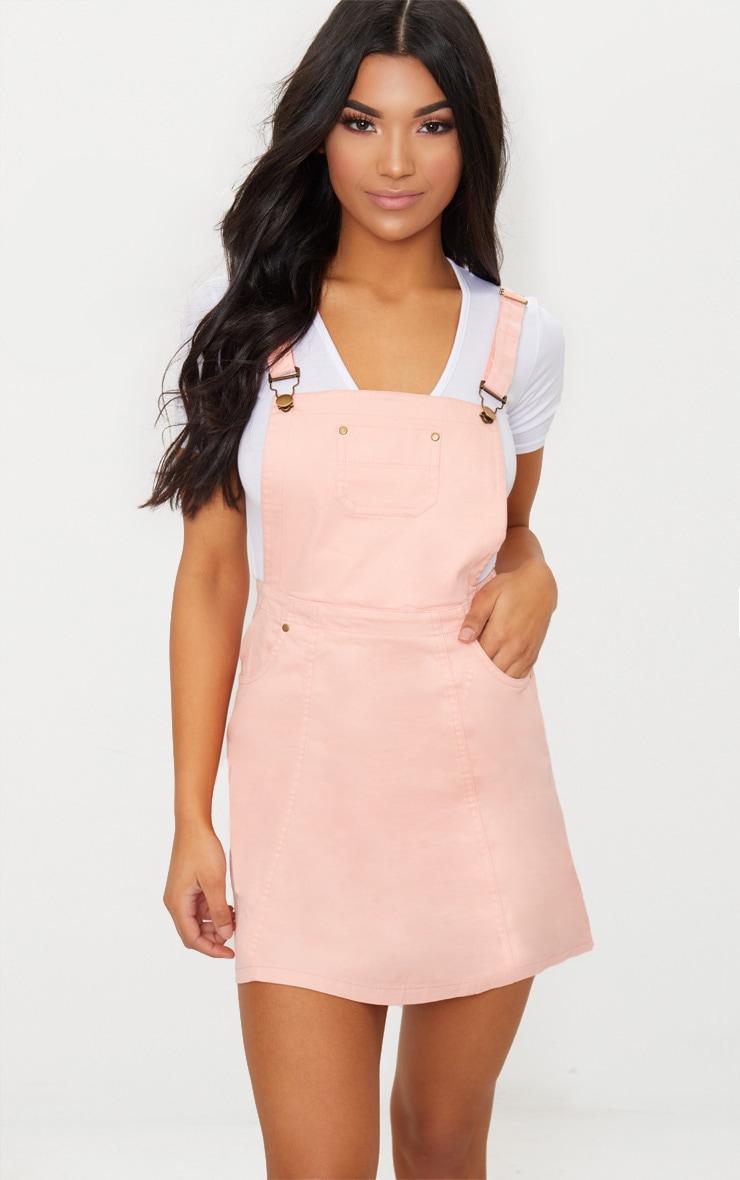 Pink Jean Dress