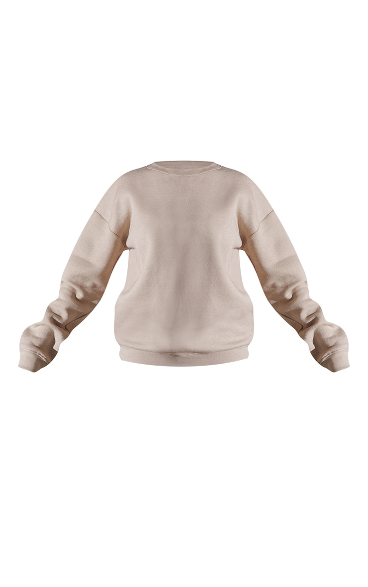 Recycled Sand Oversized Sweatshirt 5