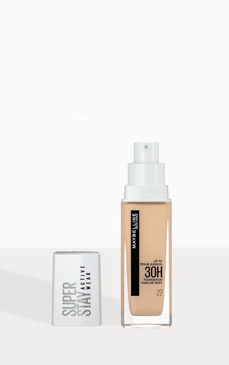 Maybelline Superstay Active Wear Full Coverage 30 Hour Long-lasting Foundation 22 Light Bisque