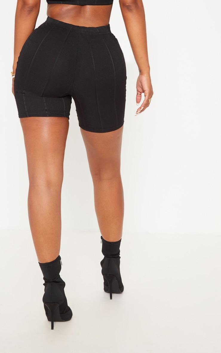 Shape Black Bandage bike Shorts 3