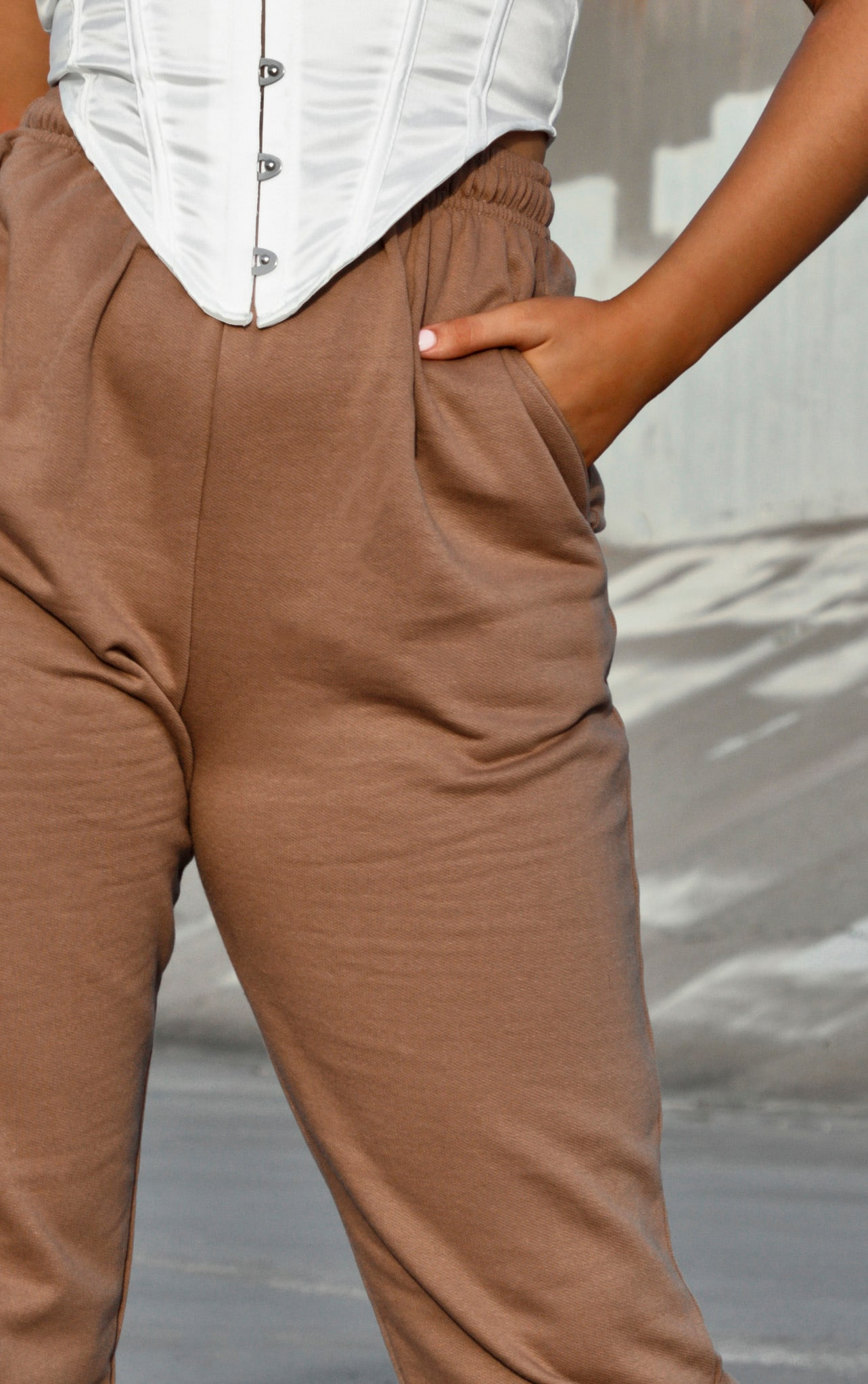 Chocolate Casual Joggers 4