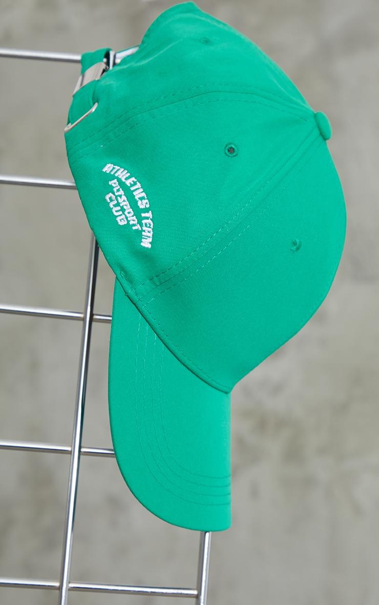 PRETTYLITTLETHING Green Sports Cap 2