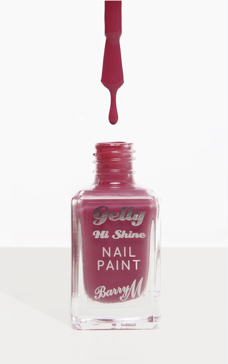 Barry M Gelly Nail Paint Rhubarb 1