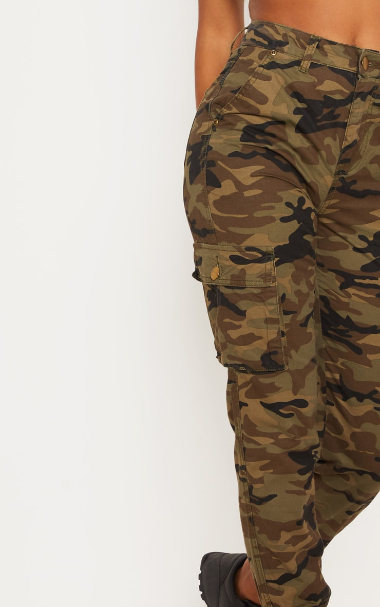 Camo Cargo Pocket Jeans  5