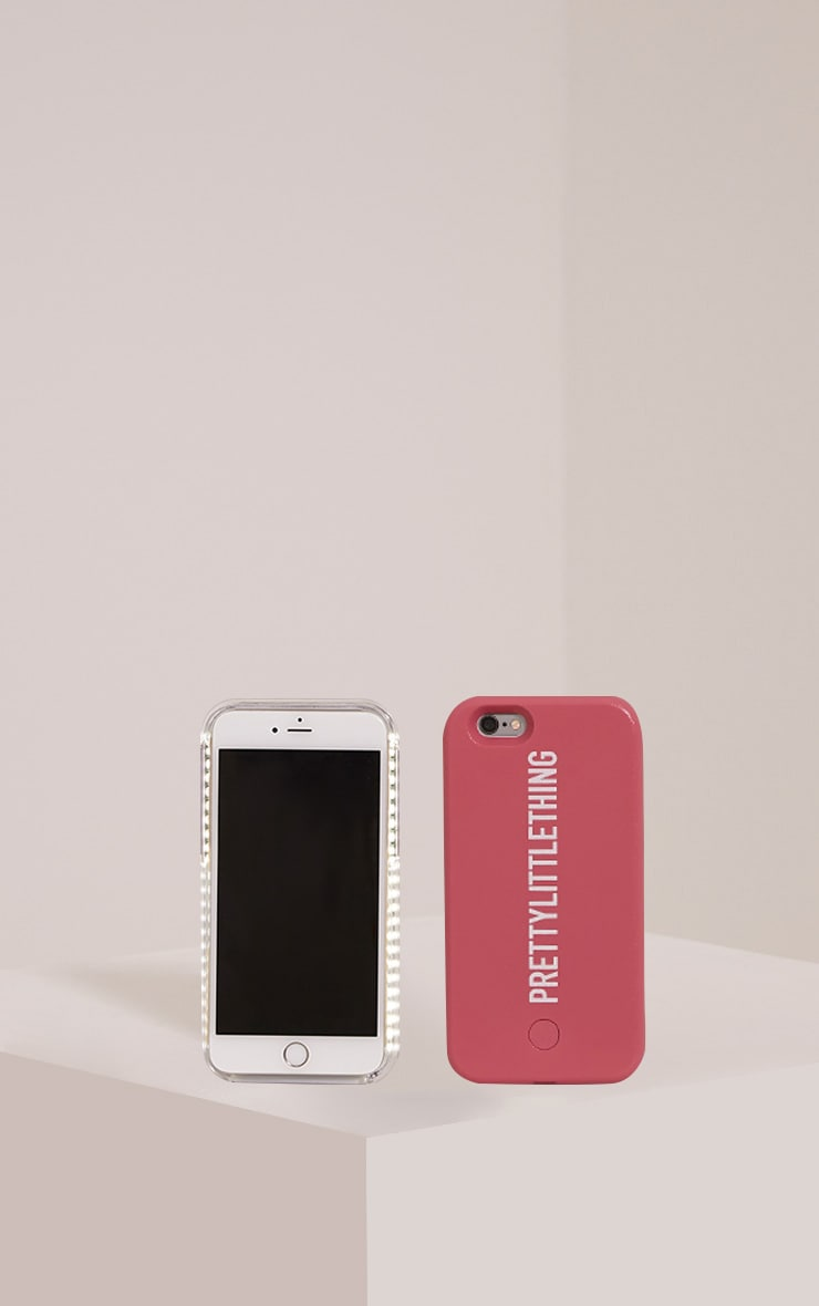 Pink PrettyLittleThing Iphone 6 Selfie Case 1