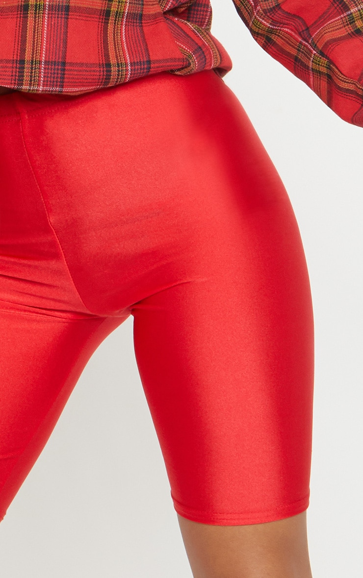 Red Disco Cycle Short 6