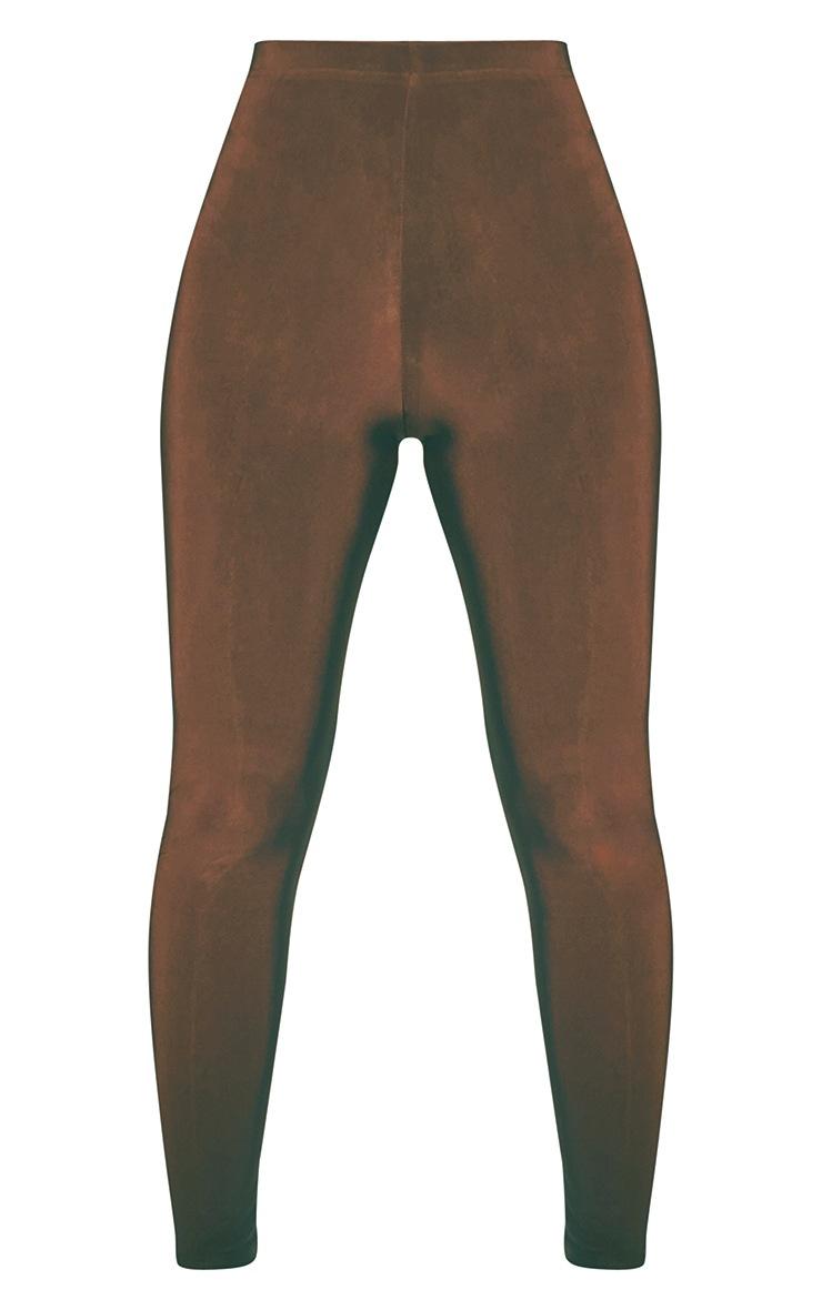 PLT Seconde Peau - Legging taille haute noix 5